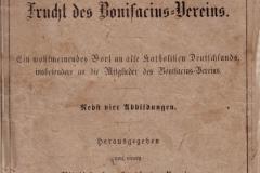 01-Groß Oschersleben von 1868 - Bonifacius-Vereins - Heftumschlag