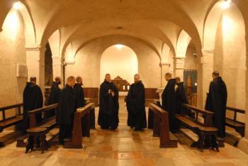 Das Gebet der Mönche täglich online zum Anhören