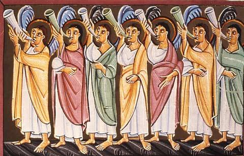 """""""…wenn der Befehl ergeht, der Erzengel ruft und die Posaune Gottes erschallt"""""""