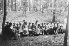 006.Sommerschenburg, Ausflug Unterstufe der priv.Volksschule in den Elm - 1932