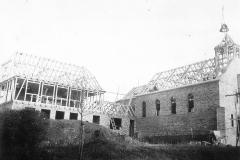 012.Sommerschenburg, Neubau St. Bernwards Kirche - Richtfest 7.12.1935