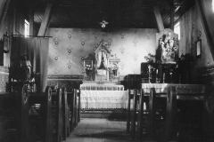 018.Sommerschenburg, kath. Kirche Inneres der alten Bernwardskirche - 1935