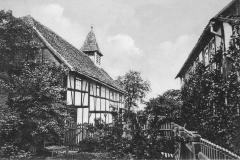 019.Sommerschenburg, kath. Kirche und Pfarrhaus - 1935