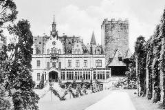 023.Sommerschenburg, Schloss-Blick zum Turm - 1936