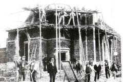 Historisch Klein Oschersleben 000 - Baustelle 1900