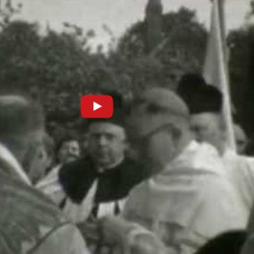 Hornhausen – Weihe der Heiligen Kreuz – Kapelle 1957