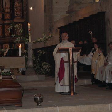 Predigt von Bischof Dr. Feige beim Requiem für + Pfr. L. Kemming