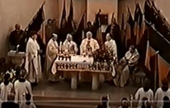 125jähriges Kolpingjubiläum Hl. Messe 1995 Teil 3 + Feier im Vereinshaus Teil 1